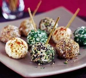 Easy Homemade Holiday Appetizers Mini Cheese Balls