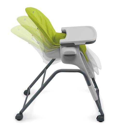 oxo seedling high chair oxo tot seedling high chair green gray
