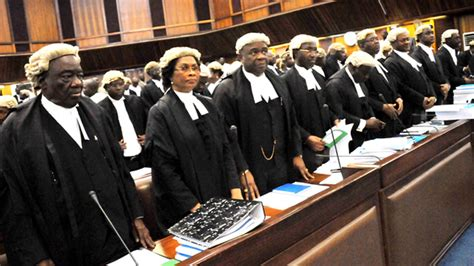 Judges cannot react to national issues- lawyers — News ...