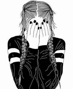Fille Noir Et Blanc : fille dessin noir et blanc fille noir et blanc dessin ~ Melissatoandfro.com Idées de Décoration