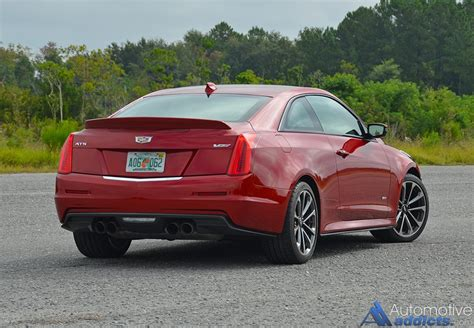 2016 cadillac ats v coupe review test drive