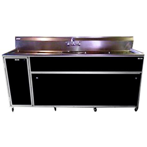 black kitchen sinks at lowes shop monsam black basin stainless steel portable 7889