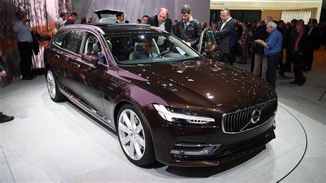 volvo  station wagon  global debut