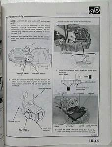 1983 Honda Accord Service Shop Repair Manual