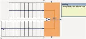 u shaped stair calculator revitcat revit stair landings part 2 modification