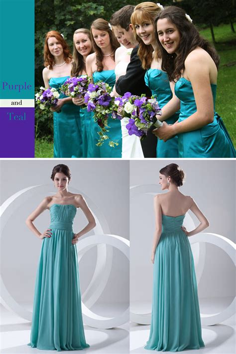 ideas  purple  teal wedding lianggeyuan