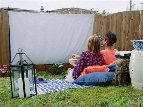outdoor  screen hgtv