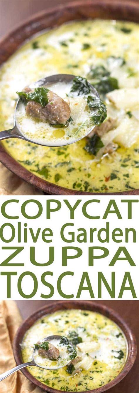 olive garden tuscan soup recipe tuscan sausage soup olive garden