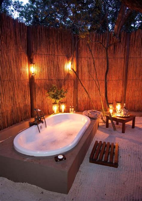 Forest Lodge With Tub by Kosi Forest Lodge Kosi Bay South Africa
