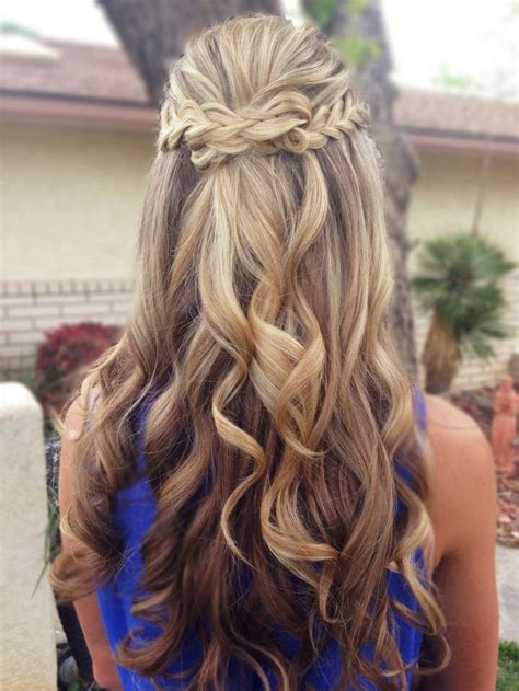 cute prom hairstyles  long hair pretty designs
