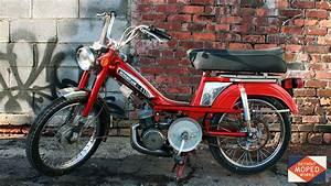 Red Variated Motobecane Moby 50v  Sold   U2013 Detroit Moped Works