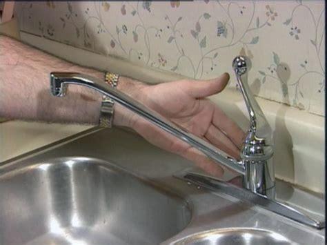 Repairing A Kitchen Faucet  Howtos Diy