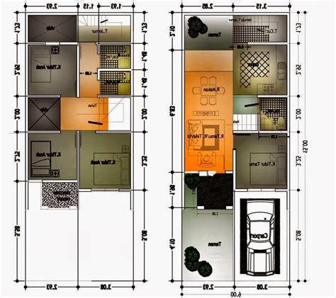 desain rumah minimalis  lantai  foto desain rumah