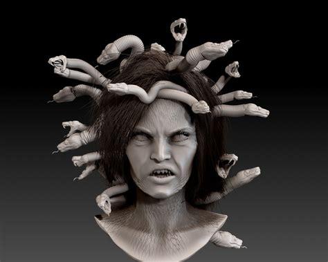 3D Medusa Gorgon Bust | CGTrader