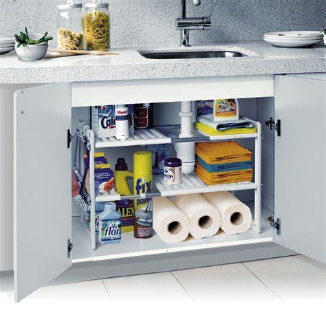 amenagement meuble sous evier astuces rangements cuisine amenagement