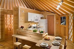 Yurt Interiors - Pacific Yurts