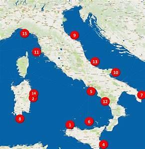 De 15 mooiste I... Mooiste Stranden Italie
