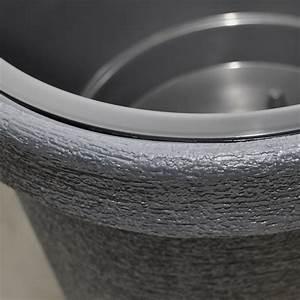 Sandkasten Kunststoff Xxl : 2x pflanzk bel kunststoff xxl grau 74 cm hoch rund 48cm blumentopf blumenk bel ebay ~ Orissabook.com Haus und Dekorationen