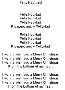 feliz navidad tekst kerst liedjes met tekst pinterest navidad