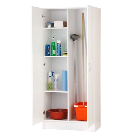 Flat Pack Laundry Cupboards Bunnings by Find Bedford 900mm White 2 Door Cupboard At Bunnings