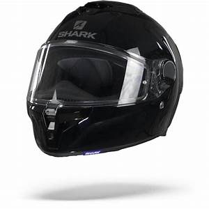 Shark Spartan Gt Blk Blank Black Full Face Helmet S