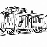 Train Caboose Coloring Clipart Railroad Drawing Pages Passenger Steam Clip Electric Engine Trains Luna Getdrawings Amazing Cliparts Could Colorluna sketch template