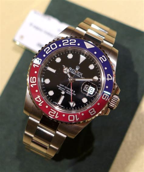"""Baselworld 2014: New Rolex GMT-Master II with """"Pepsi ..."""