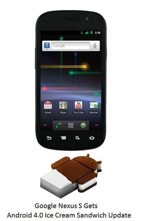 nexus android samsung nexus s gets android 4 0
