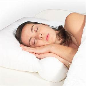 Neck support bed pillow in bed pillows for Bed neck pillow
