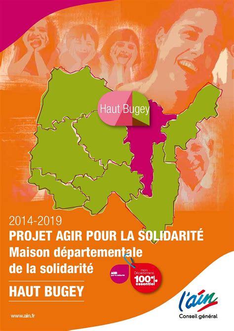 calam 233 o projet agir pour la solidarit 233 mds haut bugey