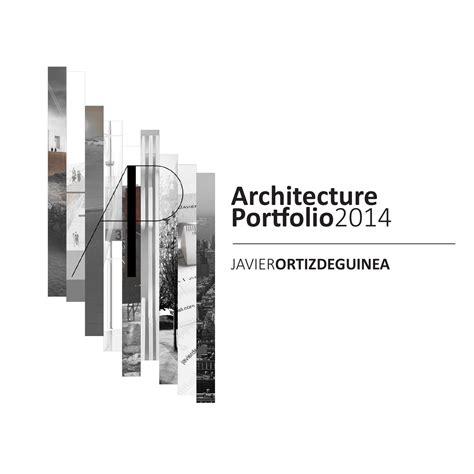 Architecture Portfolio By Javier Ortiz De Guinea Issuu