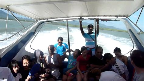 Fast Boat Phuket To Phi Phi by Phuket Speed Boat To Phi Phi Island Very Bumpy Ride 2011