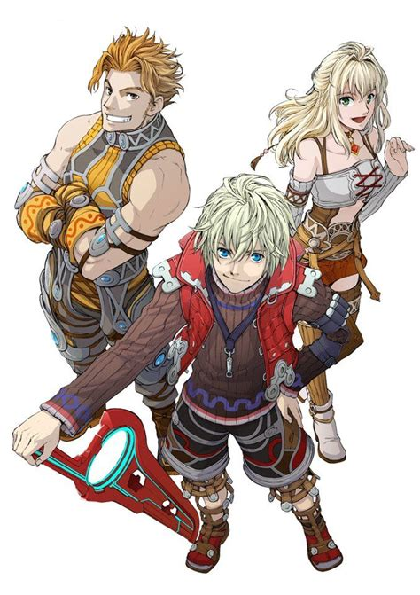 Xenoblade Chronicles Reynshulk And Fiora Xeno
