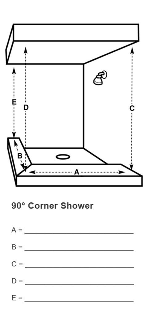 measuring shower doors  glass railings