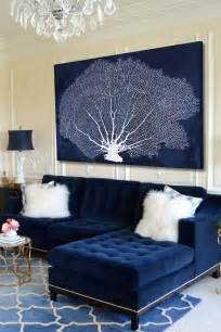 Decorating Ideas Navy Blue Walls by Navy Blue Living Room Ideas Adorable Home