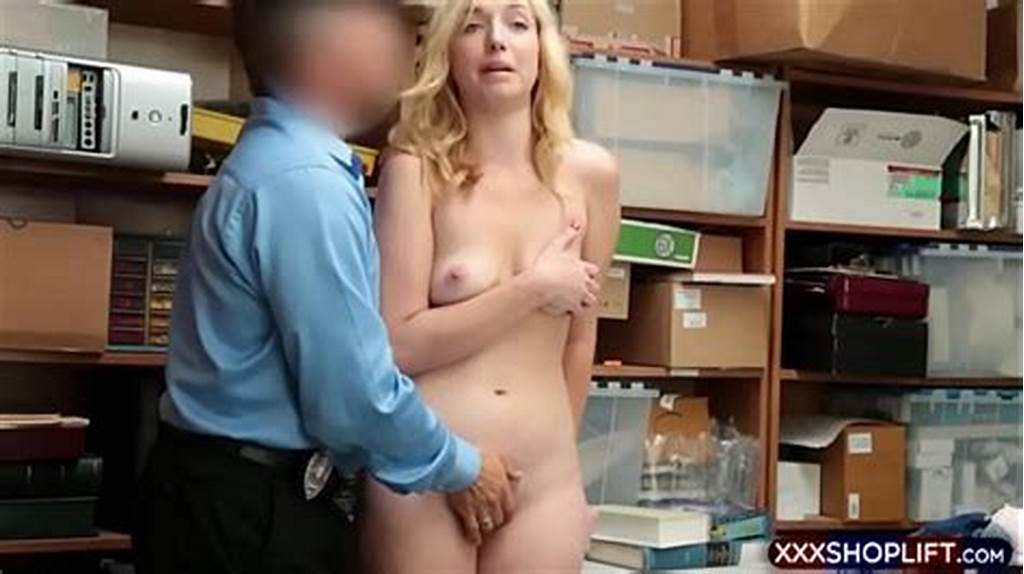 #Young #Shoplifter #Fucked #By #The #Shop #Owner #After #Being