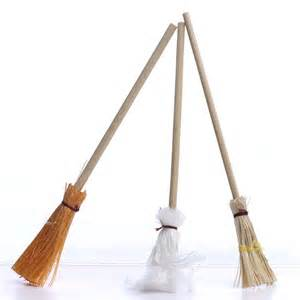 Miniature Mop and Broom