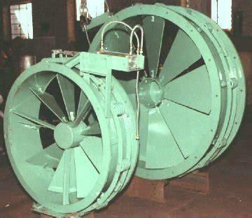 industrial blowers variable inlet vane damper