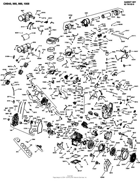27 Hp Kohler Engine Diagram by Kohler Ch1000 3022 Gardner 37 Hp 27 5 Kw Parts Diagram