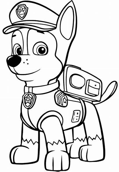 Paw Patrol Chase Coloring Printable Categories