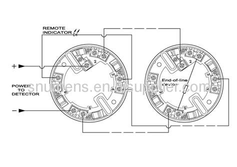 Rate Of Rise Heat Detector Diagram by Led Indicator Analogue Addressable Heat Detector From