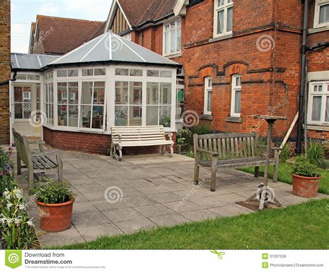 home and conservatory royalty free stock images
