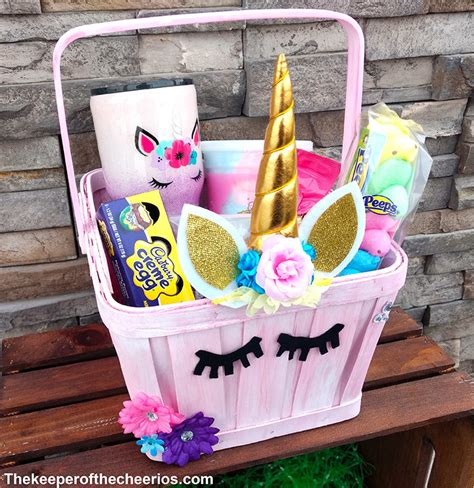 unicorn easter basket  keeper   cheerios
