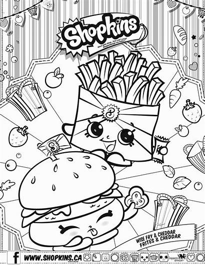Coloring Shopkins Pages Happy Places Getcolorings Printable