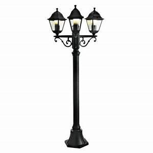 Lampadaire 3 Tetes : lampadaire ext rieur magellan 3 t tes noir h 200 cm castorama ~ Teatrodelosmanantiales.com Idées de Décoration