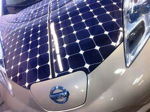 Nissan Leaf Solar Hood Vinyl