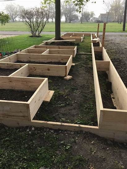 Garden Vegetable Layout Beginners Raised