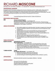 dental assistant resume examples medical sample resumes With dental assistant resume examples