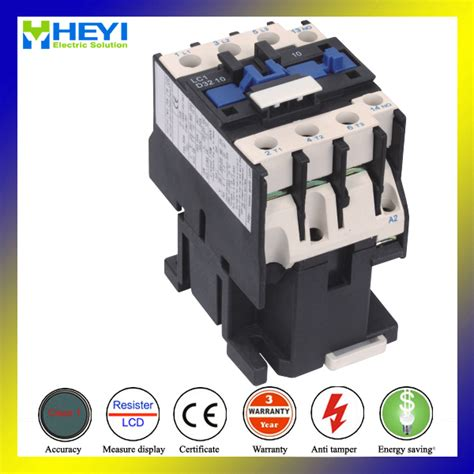 lc1 d3201 types of ac magnetic contactor three pole ac connection electrical line 220v 32a 50hz