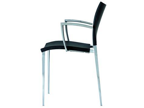 chaise conférence chaise en polypropylène avec accoudoirs sand chaise de